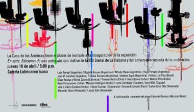 Inauguran Muestra de arte contemporáneo en Casa de las Américas