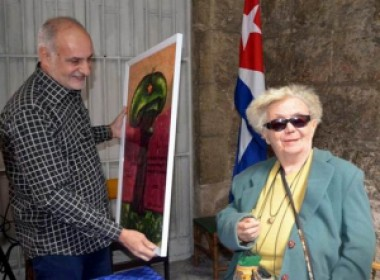 Felicita Presidente de Cuba a Graziella Pogolotti