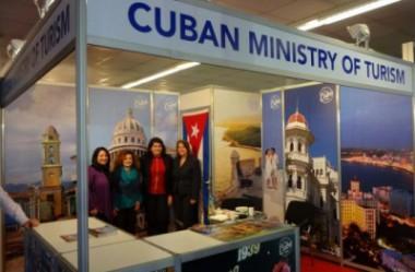 Stand de Cuba en la  XXIX Feria Internacional de Turismo de Belgrado