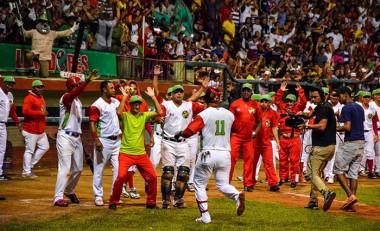 Las Tunas a medio camino de ganar el campeonato de béisbol de Cuba