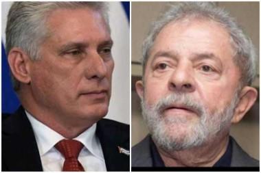 Presidente de Cuba respalda campaña por liberación de Lula