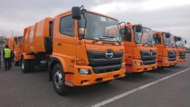 Camiones para recogida de desechos sólidos