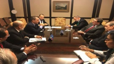 Canciller cubano ratifica solidaridad con Venezuela