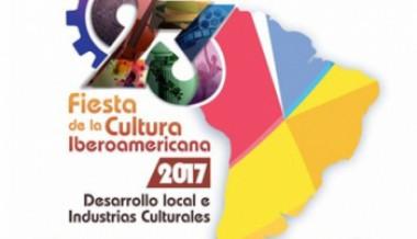 Cartel de la XXIII Fiesta de la Cultura Iberoamericana.