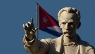 José Martí y la bandera cubana