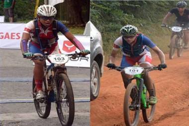 Ciclistas cubanas