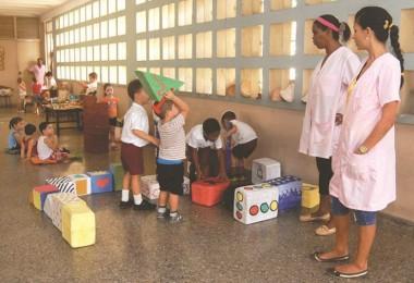 Crece ligeramente capacidades en círculos infantiles cubanos
