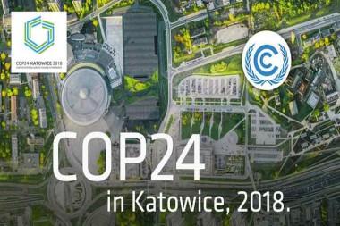 Cartel de la Conferencia de las Partes sobre el Cambio Climático (COP24)