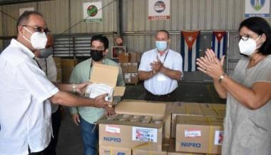 Recibe Cuba donación de jeringuillas desde Panamá