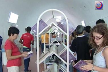 Cubanos en la Feria Internacional del Libro de La Habana