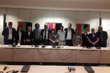 Diputados representantes de partidos y fuerzas de izquierda de América Latina y de Europa