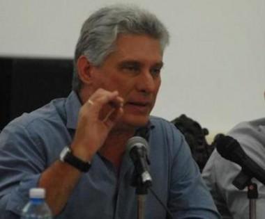 presidente de los Consejos de Estado y de Ministros, Miguel Díaz-Canel Bermúdez