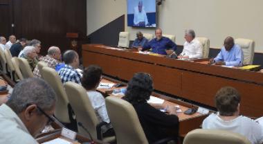 orientaciones a los presidentes y vicepresidentes de los Consejos de la Administración Provincial y los de las Asambleas del Poder Popular