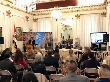Encuentro de agencias de viajes celebrado en la Embajada de Cuba en Washington D.C.