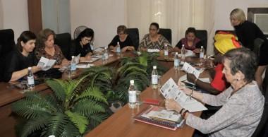 Encuentro multinacional de la Federación Democrática Internacional de Mujeres