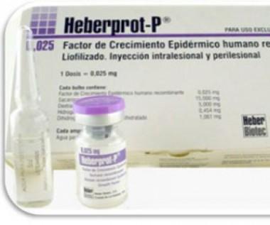 Medicamento cubano Heberprot-P