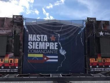Festival de Música Suena Caracas retoma sus actividades con un homenaje a Fidel.