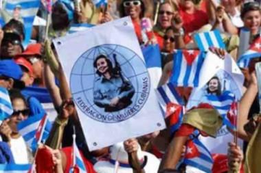 Celebración nacional en Camagüey por 57 años de la FMC