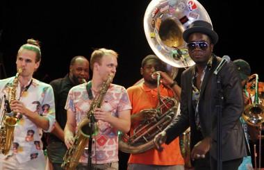 Cimafunk y Nueva Orleans compartirán escenario como parte del programa de intercambio cultural entre New Orleans y Cuba titulado Gotinga Funky in Havana. (Jorge Luis Sánchez Rivera / Cubahora)