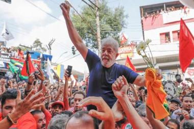 expresidente brasileño, Luiz Inácio Lula da Silva