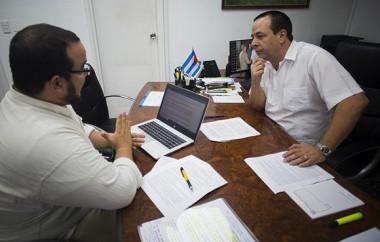 ministro de Salud Pública, José Angel Portal Miranda