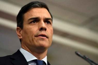 presidente del Gobierno español, Pedro Sánchez
