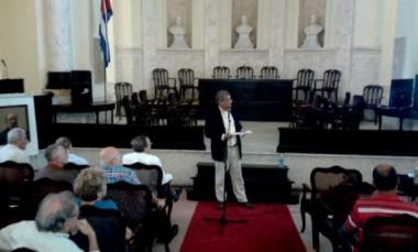 pleno de la Academia de Ciencias de Cuba