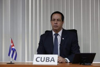 Ministro de Salud Pública de Cuba. Foto: Minsap.