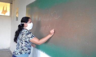 A este contingente de educadores se ha referido más de una vez la doctora Ena Elsa Velázquez, ministra de Educación, sobre todo para reconocer su participación en la batalla contra la COVID-19. Foto: Universidad de Sancti Spíritus