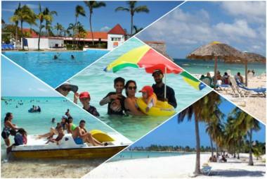 Banner alegórico al Caribe