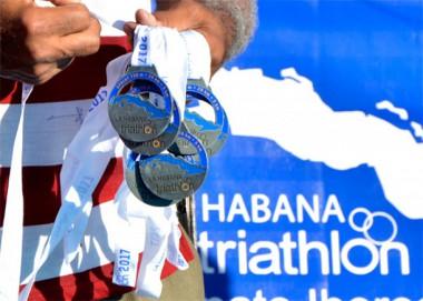 Imagen alegórica al Campeonato Iberoamericano de Triatlón