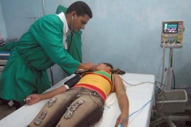 Emergencia médica cubana de salud