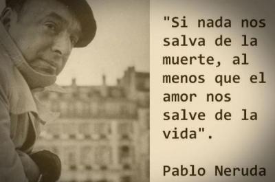 Pablo Neruda y la poesía