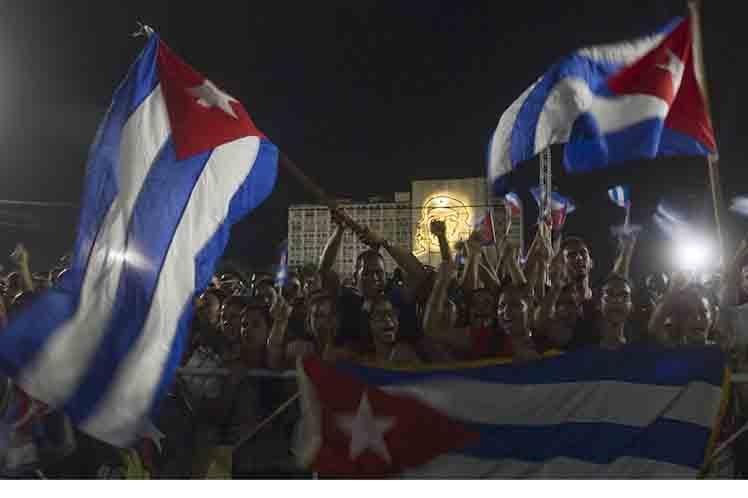 Preside Raúl Castro homenaje a Fidel junto a Nicolás Maduro.