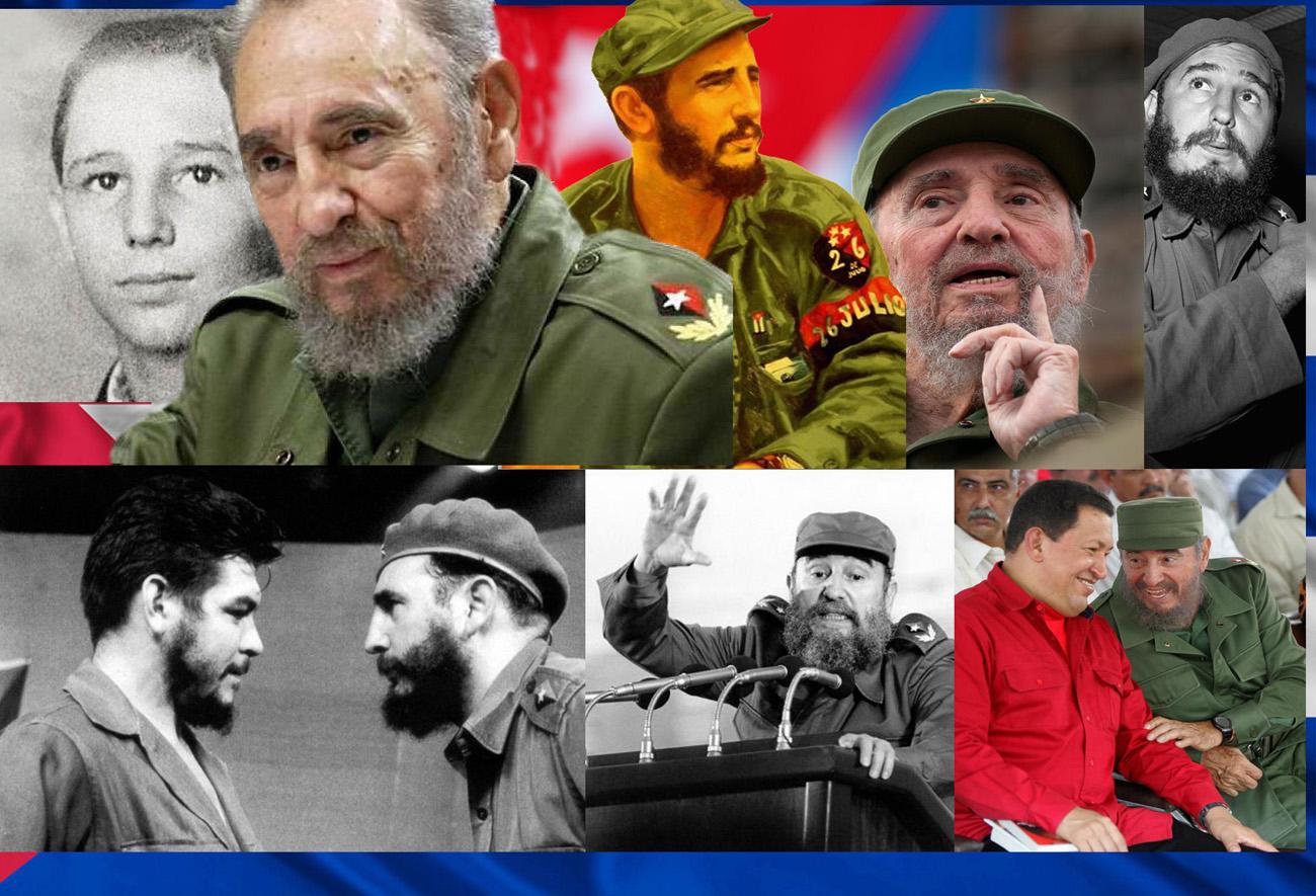 Collage de Fidel