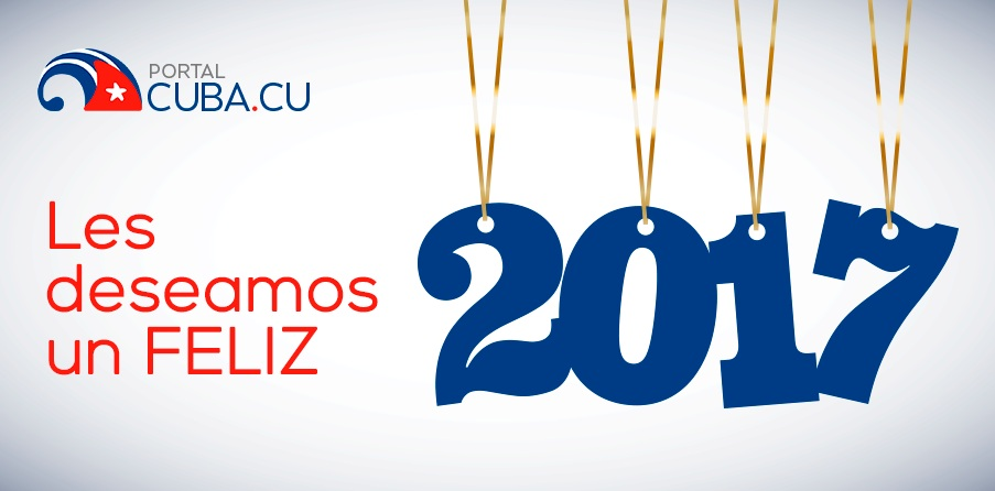 Portal Cuba desea feliz 2017